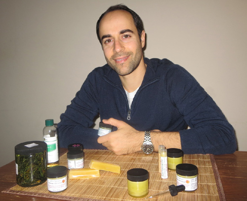 By seeking for a natural cure for eczema he created Basic-Naturals