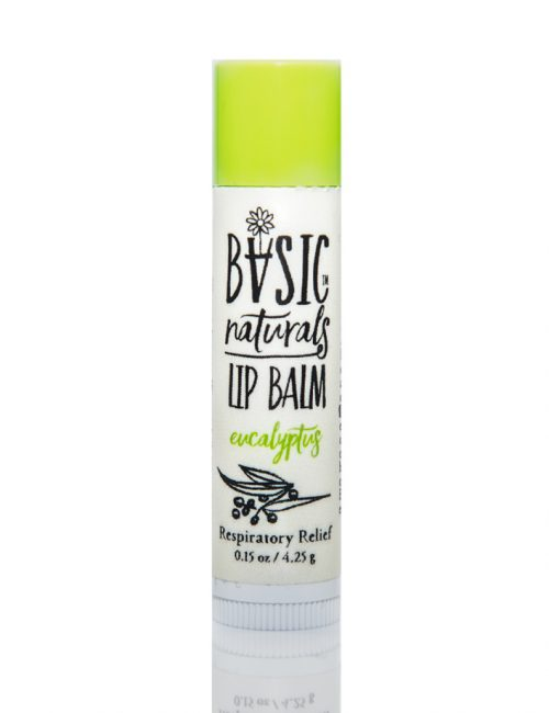 best natural lip balm eucalyptus - Basic-Naturals