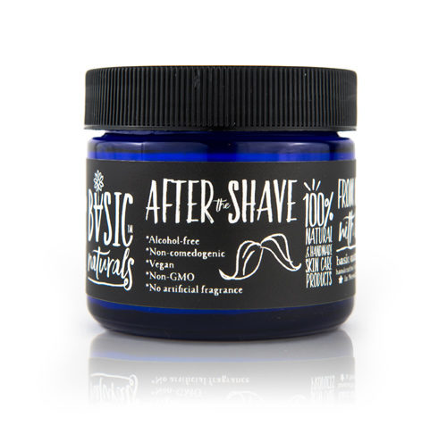 best aftershave natural Alcohol Free After Shave Moisturizing Cream - Basic-Naturals
