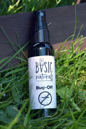 Bug Off Spray - Essential Oil Insect Repellent - basic-naturals