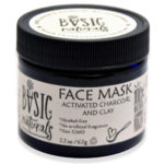 activated charcoal face mask - basic-naturals