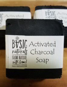 activated charcoal soap bars - basic-naturals