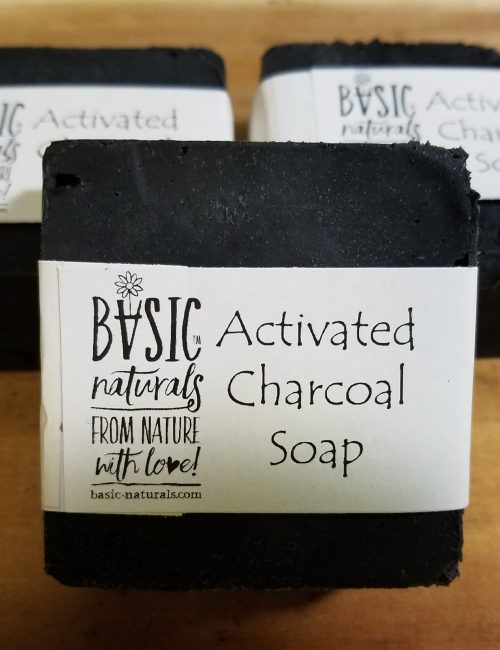 activated charcoal soap bars - basic-naturals