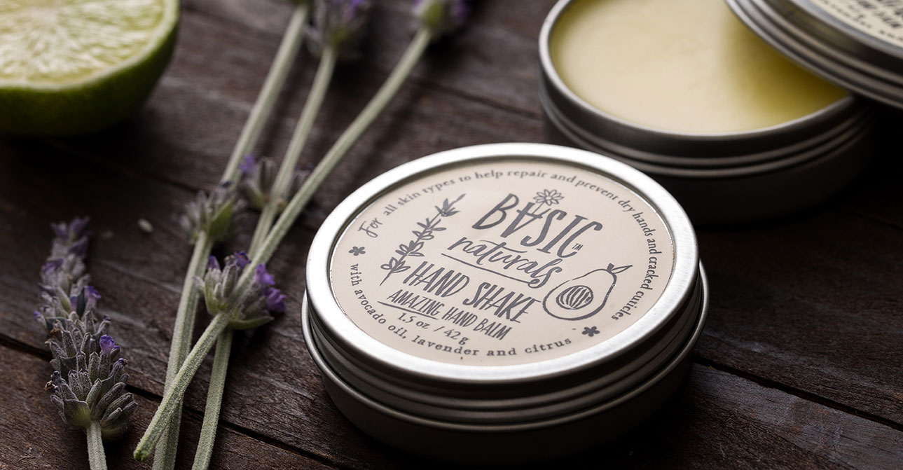 best natural hand balm - basic-naturals