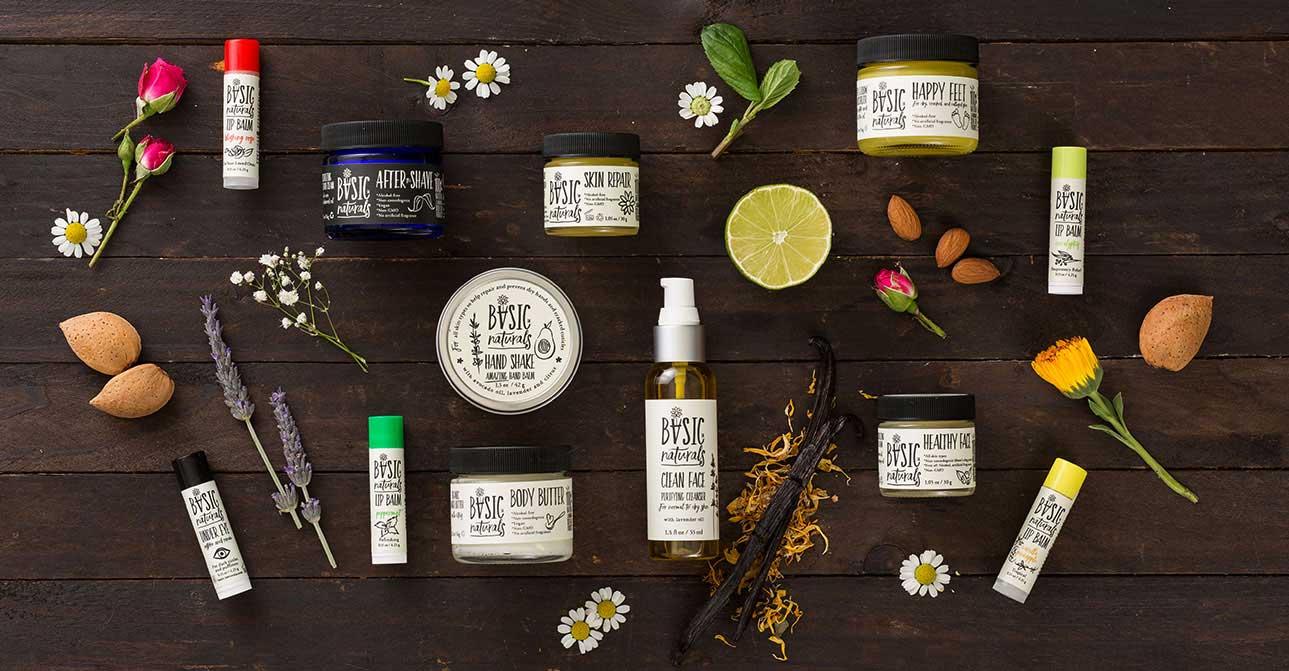 natural skincare products - basic-naturals
