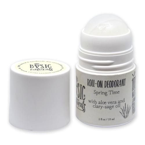 aluminum free deodorant with aloevera and essential oils - basic-naturals