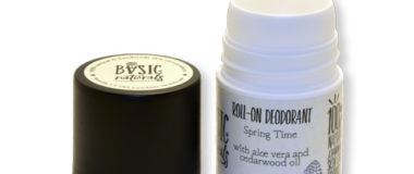 aluminum free deodorant with aloevera and essential oils - basic-naturals