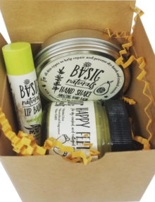 skin care holiday gift set - basic-naturals