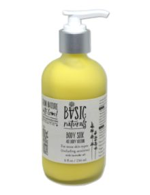 natural body lotion with shea butter grapeseed oil alcohol free