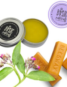 Comfrey balm for pain