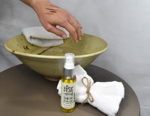 Oil Cleansing - natural face cleanser by Basic-Naturals